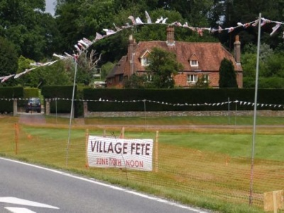 Village Fete Sign