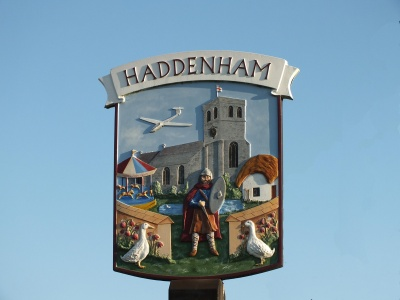 Village Sign at Church End