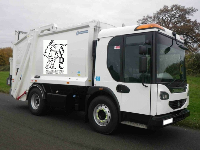 Waste Collection Lorry 01