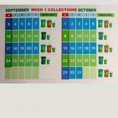Waste Collection Schedule Week 1bb