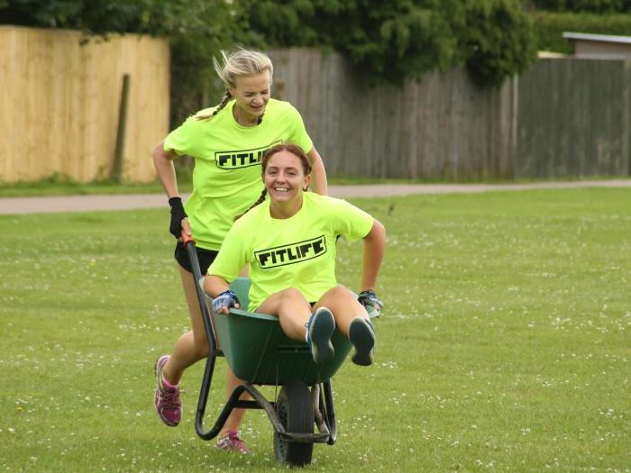 Wheelbarrow Race 16