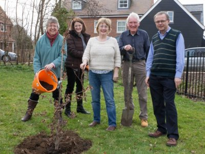 Witchert Chorale Tree Planting 02