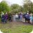 Wychert Ramblers at Kissing Gate
