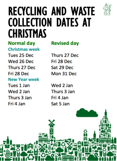 Xmas Waste Collections