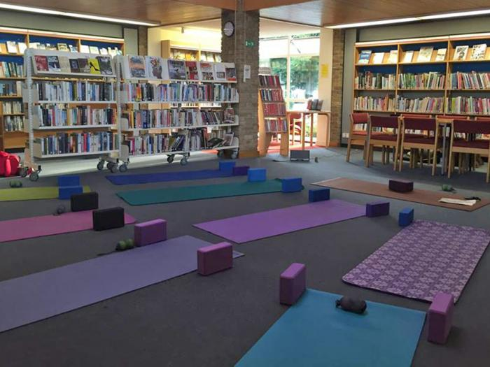 Yoga Classes in Library